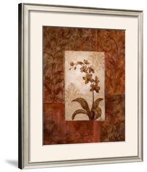 Orchids in Sepia II by Nan