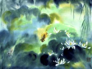 Blue Lagoon I by Nan Rae