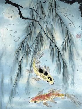 Golden Koi by Nan Rae
