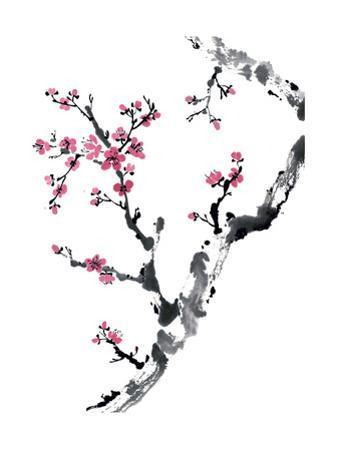 Plum Blossom Branch II