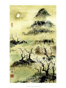 Viewing Plum Blossoms in Moonlight by Nan Rae