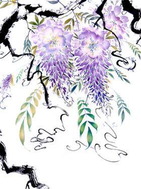 Wisteria Garden III by Nan Rae