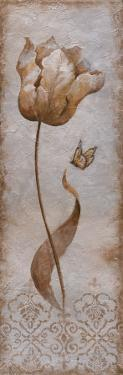 Tulip and Butterfly I by Nan