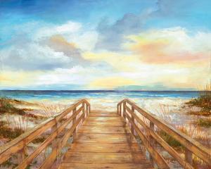 Walk to the Beach by Nan