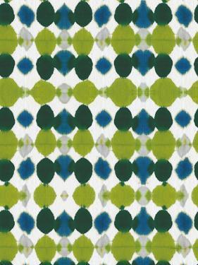 Watermark II Blue Green by Nancy Green