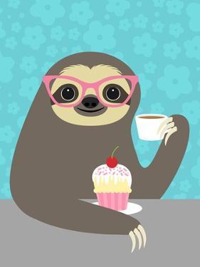 Diva Sloth by Nancy Lee