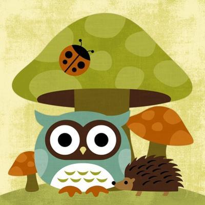 Owl and Hedgehog by Nancy Lee