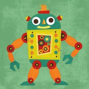 Robot 1 by Nancy Lee