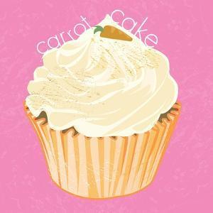 Carrot cake Cupcake, 2019, by Nancy Moniz Charalambous