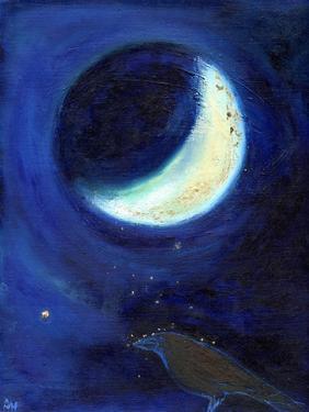 July Moon, 2014, by Nancy Moniz Charalambous