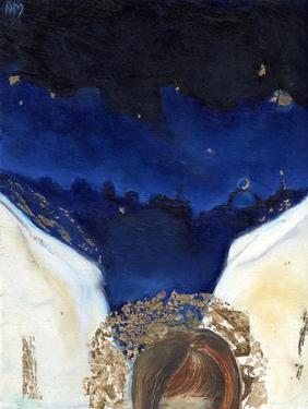 Night the angel got his wings, 2014, by Nancy Moniz Charalambous