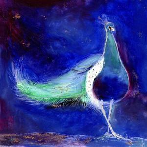 Peacock Blue, 2013, by Nancy Moniz Charalambous