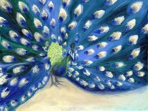Peacock Eyes, 2013, by Nancy Moniz Charalambous