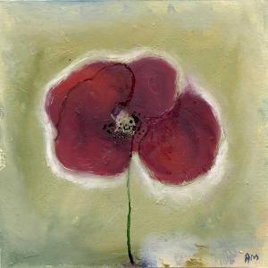 Poppy in my diary by Nancy Moniz Charalambous