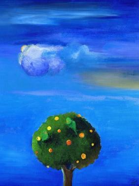 Silver Lining over the Orange Tree, 2012, by Nancy Moniz Charalambous