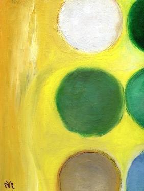 The Happy Dots 3, 2014, by Nancy Moniz Charalambous