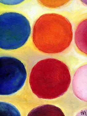 The Happy Dots 5, 2014, by Nancy Moniz Charalambous
