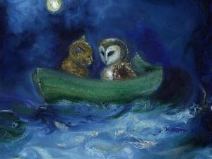 The Owl and the Pussycat, 2014, by Nancy Moniz Charalambous