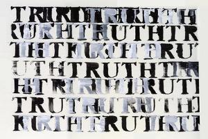 The Truth in Black and White, 2015, by Nancy Moniz Charalambous