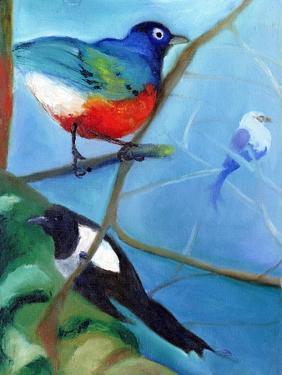 Tree Full of Birds, 2012, by Nancy Moniz Charalambous