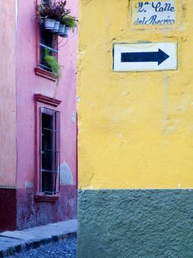 Street Sign, San Miguel De Allende, Mexico by Nancy Rotenberg