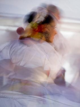 Twirling Female Dancer, San Miguel De Allende, Mexico by Nancy Rotenberg