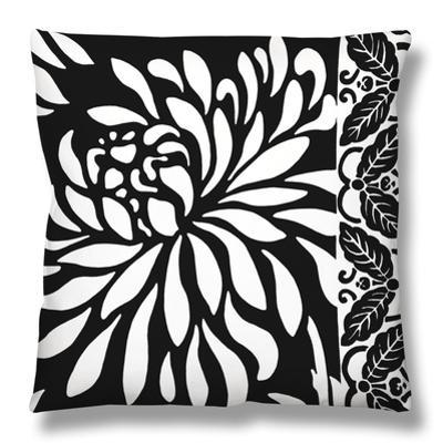 Graphic Chrysanthemums I by Nancy Slocum