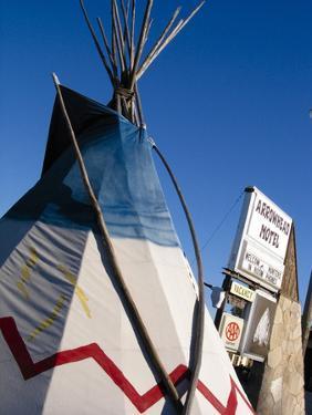 Arrowhead Motel Sign, Buffalo, Wyoming, USA by Nancy & Steve Ross