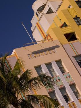 Art Deco Design of Cavalier Hotel, South Beach, Miami, Florida, USA by Nancy & Steve Ross