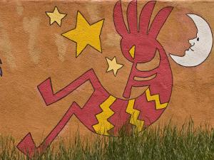 Musical Wall Mural, Santa Fe, New Mexico by Nancy & Steve Ross