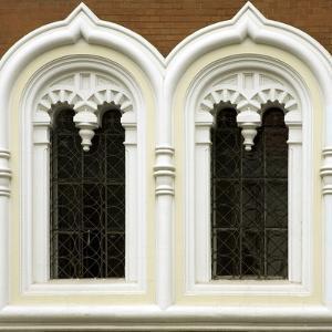 Window Detail on Alexander Nevsky Cathedral, Tallinn, Estonia by Nancy & Steve Ross