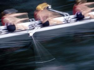 Woman's Crew on Opening Day Races of the Annual Windermere Cup Regatta, Seattle, Washington, USA by Nancy & Steve Ross