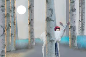 Hiding with White Deer by Nancy Tillman