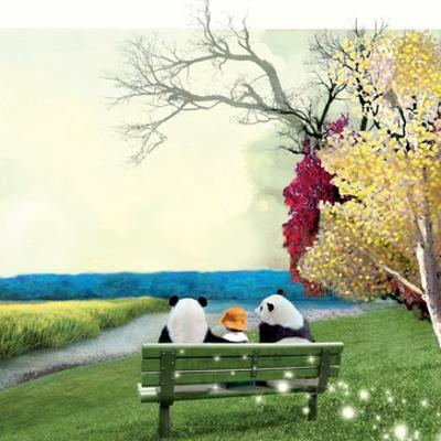 Sitting With Pandas by Nancy Tillman