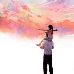 Sunset with Dad by Nancy Tillman