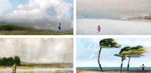 Wind Rain Snow Clouds by Nancy Tillman