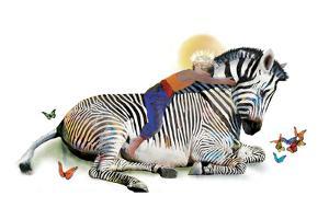 Zebra Love by Nancy Tillman