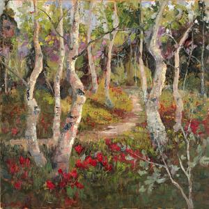 Four Seasons Aspens I by Nanette Oleson