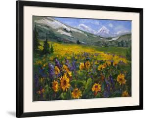 Sierra Awakenings II by Nanette Oleson