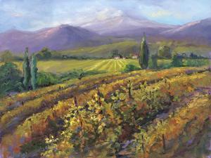 Vineyard Tapestry I by Nanette Oleson