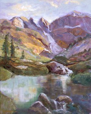 Western Vistas II by Nanette Oleson