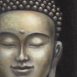 Serene Buddha II Crop by Naomi McBride