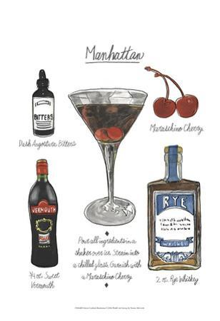Classic Cocktail - Manhattan by Naomi McCavitt
