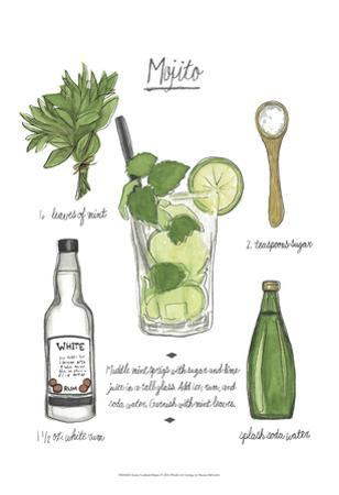 Classic Cocktail - Mojito by Naomi McCavitt