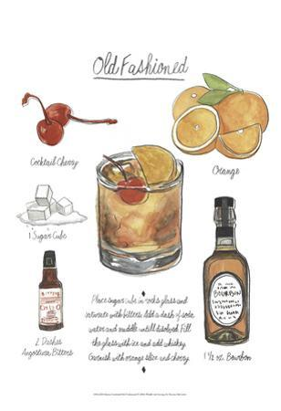 Classic Cocktail - Old Fashioned by Naomi McCavitt