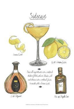 Classic Cocktail - Sidecar by Naomi McCavitt