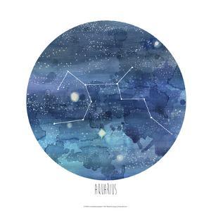 Constellation-Aquarius by Naomi McCavitt