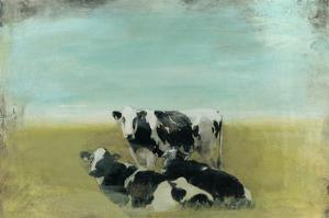 Country Drive Cows III by Naomi McCavitt