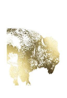 Gold Foil Buffalo by Naomi McCavitt