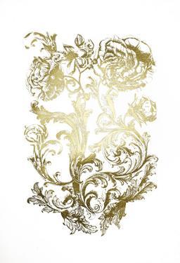 Gold Foil Flora & Filigree by Naomi McCavitt